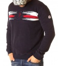 Moncler Jumpers - Painted Effect Jumper Navy - price €58.00 - on special price only in RefoStore with great discount: - 66%
