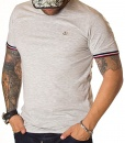 Moncler Crew Neck T-shirts - T-Shirt Classic Logo Grey - price €48.00 - on special price only in RefoStore with great discount: - 72%
