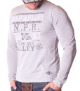 Napapijri Sweaters - NPR Valley Grey Sweater - price €45.00 - on special price only in RefoStore with great discount: - 68%