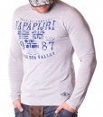Napapijri Sweaters - Rising Sun Grey Sweater - price €45.00 - on special price only in RefoStore with great discount: - 68%