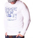 Napapijri Sweaters - Rising Sun White Sweater - price €45.00 - on special price only in RefoStore with great discount: - 68%