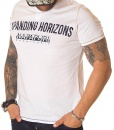 Napapijri Crew Neck T-shirts - T-shirt Expanding Horizons White - price €42.00 - on special price only in RefoStore with great discount: - 58%