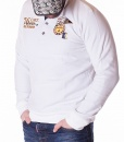 Long Sleeve Polos - Polo Shirt Limited 76 - White