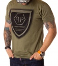 Philipp Plein Crew Neck T-shirts - Green T-shirt Limited Edition 197 - price €55.00 - on special price only in RefoStore with great discount: - 73%