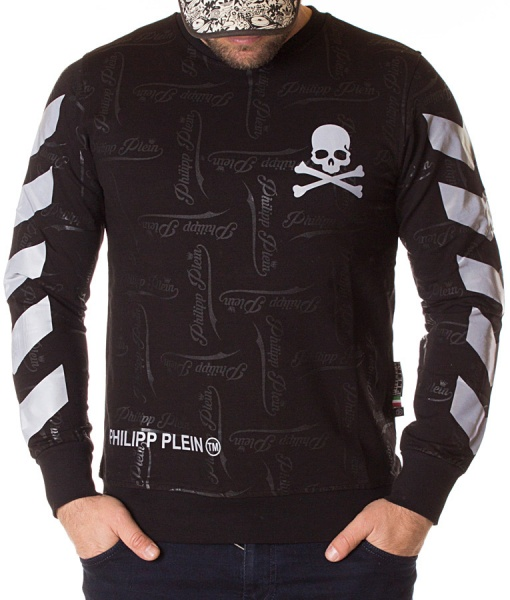 Philipp Plein Sweaters - Sweater Poison Light-Reflecting Stamp