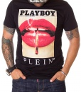 Philipp Plein Crew Neck T-shirts - T-shirt Playboy Black