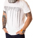 Philipp Plein Crew Neck T-shirts - White T-shirt PP Classic - price €52.00 - on special price only in RefoStore with great discount: - 74%