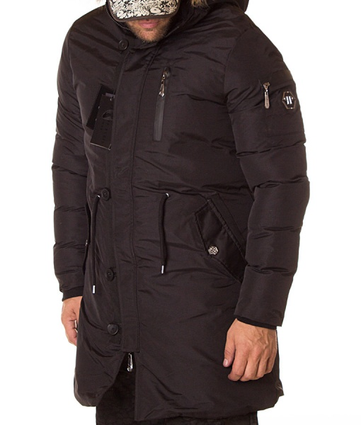 Philipp Plein Jackets - Winter Jacket - Black
