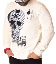 Philipp Plein Sweaters - Winter Sweater Fall Winter - Warm White - price €65.00 - on special price only in RefoStore with great discount: - 74%