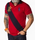 Ralph Lauren Short Sleeve Polos - Polo Shirt N:2 RL - Red - price €58.00 - on special price only in RefoStore with great discount: - 56%