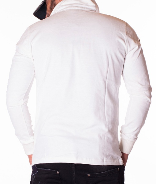 Ralph Lauren Long Sleeve Polos - Polo Shirt RL Club - White