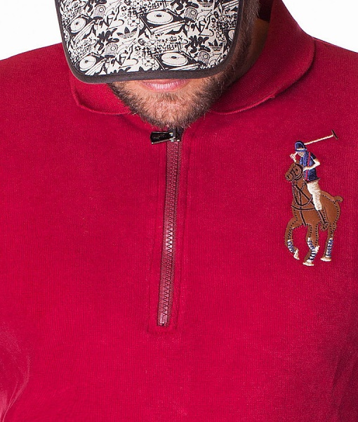 Ralph Lauren Long Sleeve Polos - Polo Shirt Team N3 - Red