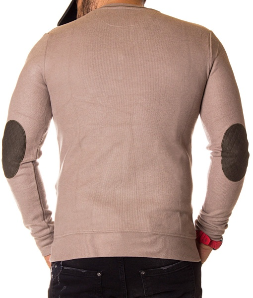 Ralph Lauren Sweaters - Knitted Beige Sweater V Neck Collar