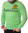 Ralph Lauren Sweaters - Winter Sweater First Division - Light Green - price €58.00 - on special price only in RefoStore with great discount: - 68%
