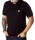 Stone Island Crew Neck T-shirts - Black T-shirt Classic Logo - price €35.00 - on special price only in RefoStore with great discount: - 50%