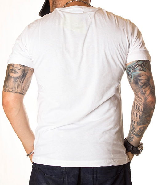 Versace Crew Neck T-shirts - T-shirt Jeans Spring Summer 19 White